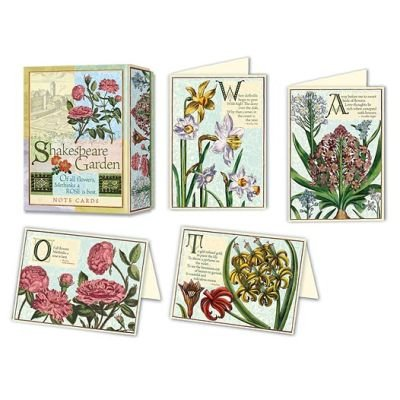 Shakespeare Garden Note Cards (Cards): Potter Style