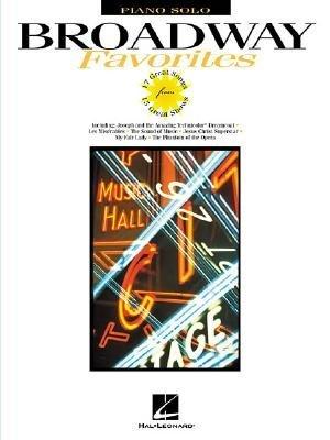 Broadway Favorites (Paperback): Hal Leonard Corp