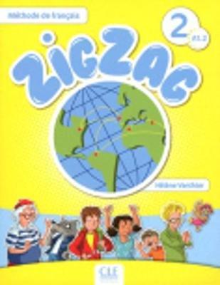 Zigzag - Livre de l'eleve A1.2-Livre + CD audio (French, Mixed media product):