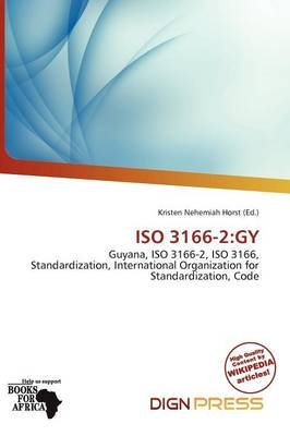 ISO 3166-2 - Gy (Paperback): K...