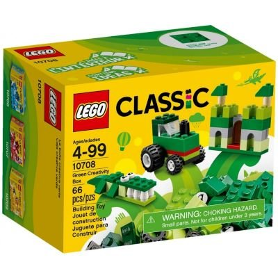 LEGO Classic - Green Creativity Box: