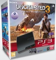 Sony PS3 320GB Console + Uncharted 3: