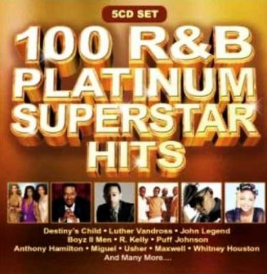100 R&B Platinum Superstar Hits (CD): Various Artists