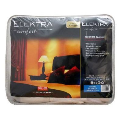 Elektra Electric Fitted Blanket (Queen Bed):