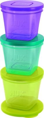 NUK Food Pots (Set of 6) (Multicolour):