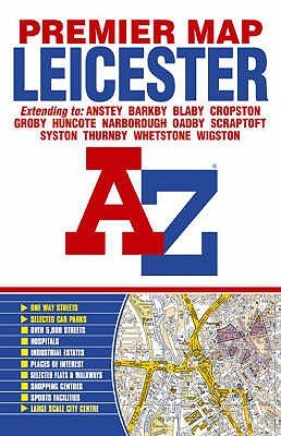 Premier Map of Leicester (Paperback, 7th Revised edition):