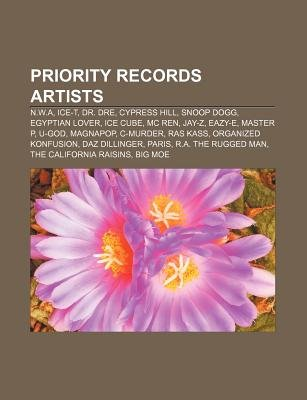 Priority Records Artists - N.W.A, Ice-T, Dr. Dre, Cypress Hill, Snoop Dogg, Egyptian Lover, Ice Cube, MC Ren, Jay-Z, Eazy-E,...