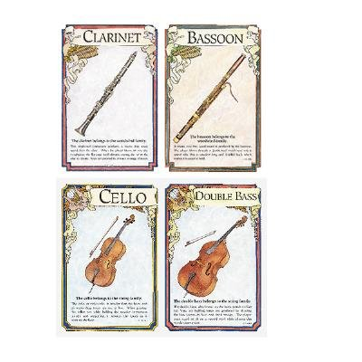 Musical Instruments Learning Cards (Cards): Instructional Fair