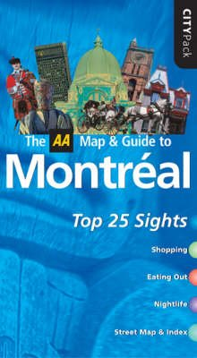 AA CityPack Montreal (Paperback, 4th Revised edition):