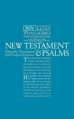 NIV New Testament and Psalms (Paperback): International Bible Society