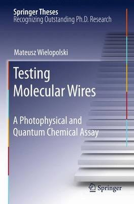 Testing Molecular Wires - A Photophysical and Quantum Chemical Assay (Paperback, 2010 ed.): Mateusz Wielopolski