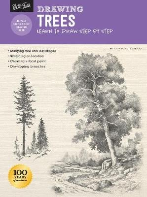 Drawing: Trees with William F. Powell - Learn to draw step by step (Paperback, Revised Edition): William F Powell