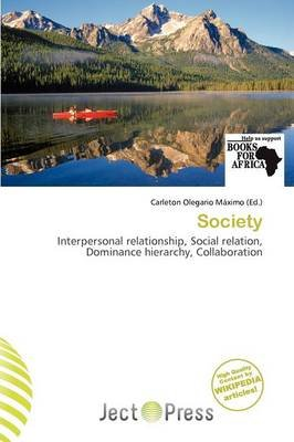 Society (Paperback): Carleton Olegario M. Ximo