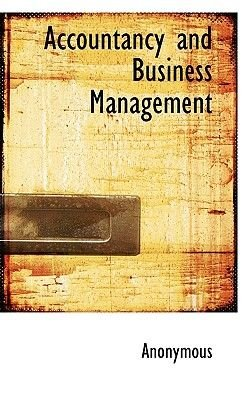 Accountancy and Business Management (Paperback): Anonymous