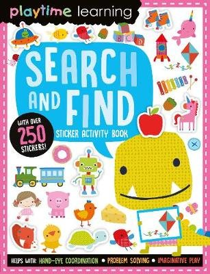 Search And Find - Sticker Activity Book (Paperback):