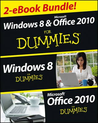 Windows 8 & Office 2010 For Dummies eBook Set (Paperback): Andy Rathbone