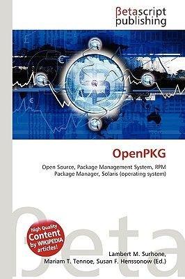 Openpkg (Paperback): Lambert M. Surhone, Miriam T. Timpledon, Susan F. Marseken