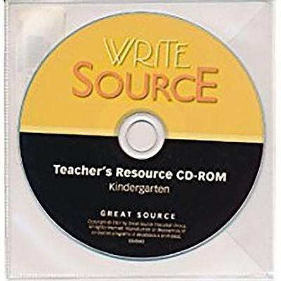 Great Source Write Source - Resource CD Grade K 2007 (Paperback): Wspk