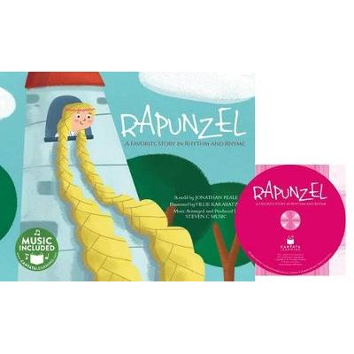 Rapunzel - A Favorite Story in Rhythm and Rhyme (Book): Jonathan Peale