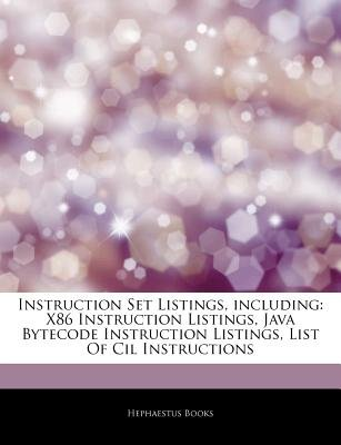 Articles On Instruction Set Listings Including X86 Instruction