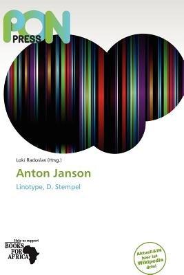 Anton Janson (German, Paperback): Loki Radoslav