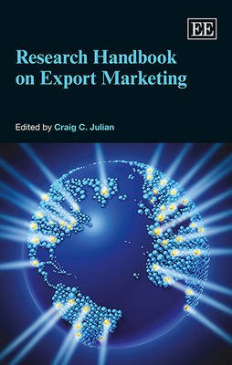 Research Handbook on Export Marketing (Paperback): Craig C. Julian