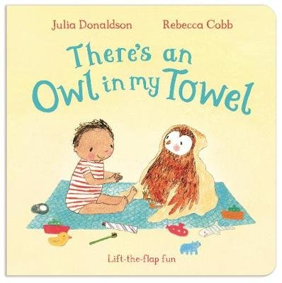 There's an Owl in My Towel (Board book): Julia Donaldson