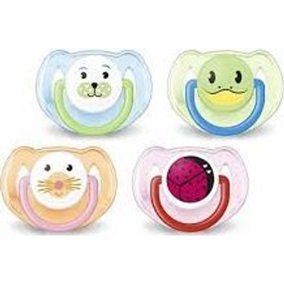Philips AVENT Classic Animal Soothers (2 Pack) (6-18 Months):