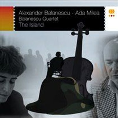 The Balanescu Quartet / Ada Milea - The Island (CD): The Balanescu Quartet, Ada Milea