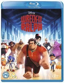 Wreck-it Ralph (English, Portuguese, Spanish, Blu-ray disc): John C. Reilly, Sarah Silverman, Jack McBrayer, Jane Lynch, Alan...