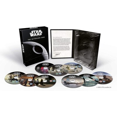 Star Wars: The Skywalker Saga - 9-Movie Collection (DVD, Boxed set): Mark Hamill, Harrison Ford, Carrie Fisher, Hayden...