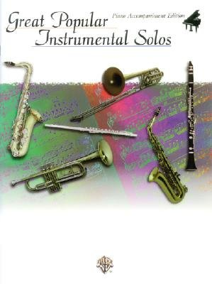 Great Popular Instrumental Solos (Paperback): Alfred Publishing