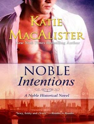 Noble Intentions (CD, Library): Katie MacAlister