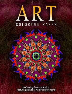 Art Coloring Pages, Volume 5 - Adult Coloring Pages (Paperback): Jangle Charm