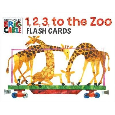1, 2, 3 to the Zoo Train Flash Cards (Cards): Eric Carle