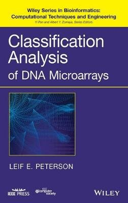 Classification Analysis of DNA Microarrays (Hardcover): Leif E. Peterson