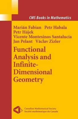 Functional Analysis and Infinite-Dimensional Geometry (Paperback): Marian Fabian, Petr Habala, Petr Hajek