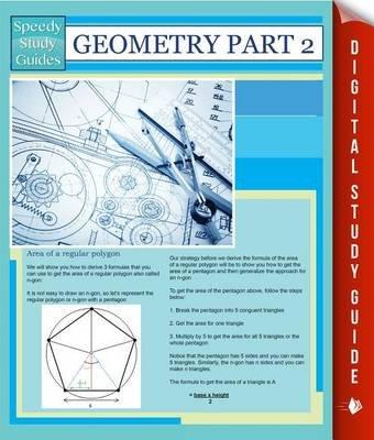 Geometry Part 2 (Speedy Study Guides) (Electronic book text): Speedy Publishing LLC