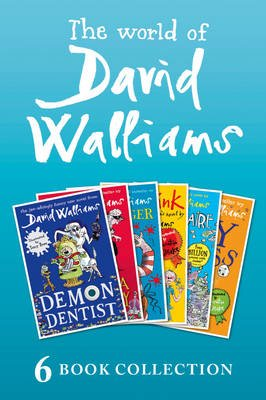 The World of David Walliams: 6 Book Collection (The Boy in the Dress, Mr Stink, Billionaire Boy, Gangsta Granny, Ratburger,...