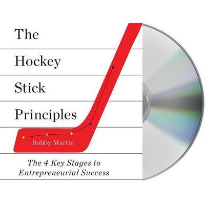 The Hockey Stick Principles - The 4 Key Stages to Entrepreneurial Success (Standard format, CD): Bobby Martin