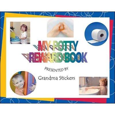 My Potty Reward Book (Paperback): Grandma Stickers