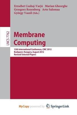 Membrane Computing (Paperback):