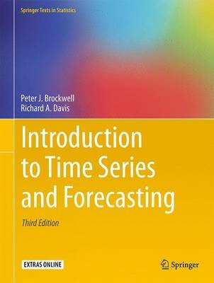 Introduction to Time Series and Forecasting (Mixed media product, 3rd ed. 2016): Peter J. Brockwell, Richard A. Davis
