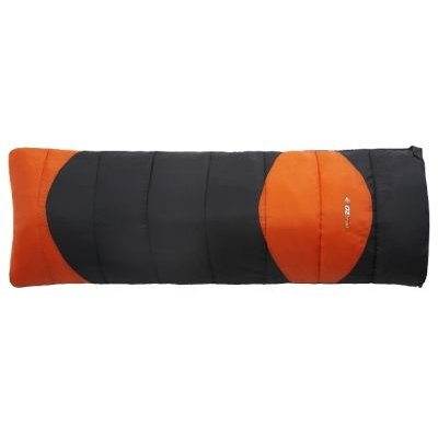 Oztrail Sturt Jumbo Camper Sleeping Bag (+5 Degree Celsius) (Supplied Colour May Vary):