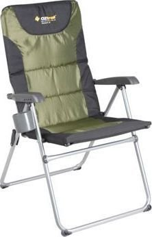 Oztrail Resort 5 Position Camping Arm Chair (150 kg):