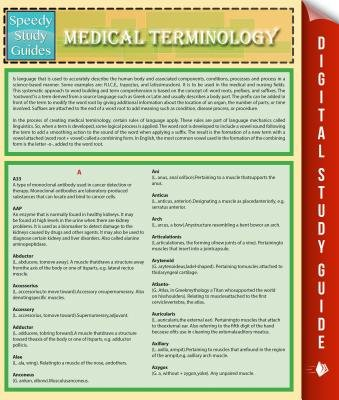 Medical Terminology (Speedy Study Guides) (Electronic book text): Speedy Publishing LLC