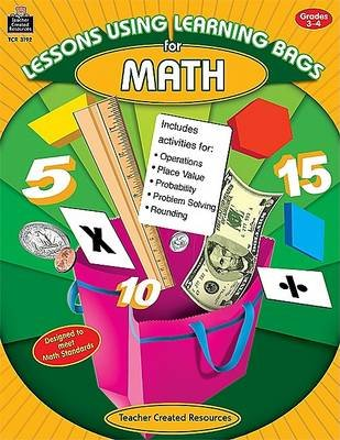 Lessons Using Learning Bags for Math, Grades 3-4 (Paperback): Diane Nees
