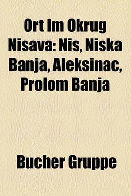 Ort Im Okrug Ni Ava - Ni, Ni Ka Banja, Aleksinac, Prolom Banja (English, German, Paperback): Bucher Gruppe
