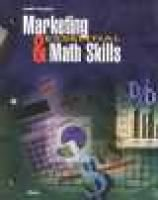 Marketing and Essential Math Skills (Paperback, 4th): William A. Stull