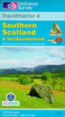 Travelmaster, Sheet 4 - Southern Scotland and Northumberland (Sheet map, folded, Revised edition): Ordnance Survey